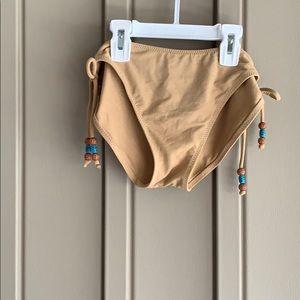 Swim - Sand & Sun Tan Suede 2-Piece Swim Suit